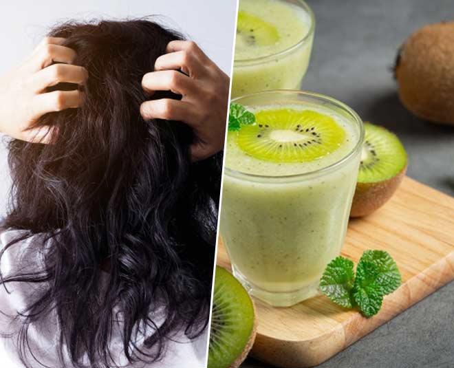 kiwi fruit for hair