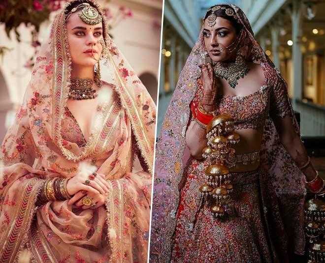 lehenga colors for bridal season