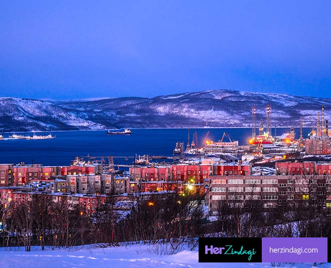 murmansk city best weather