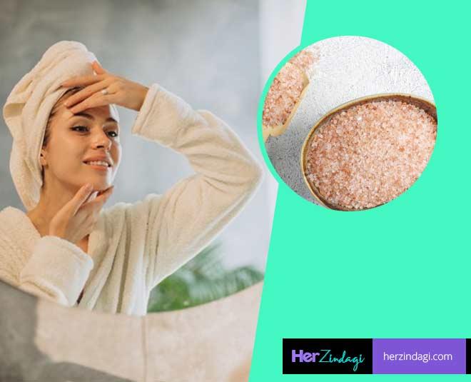 pink salt benefits for skin