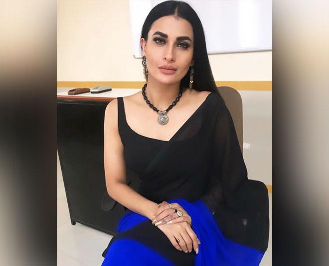 baalveer returns pavitra punia stylish saree looks FASHION