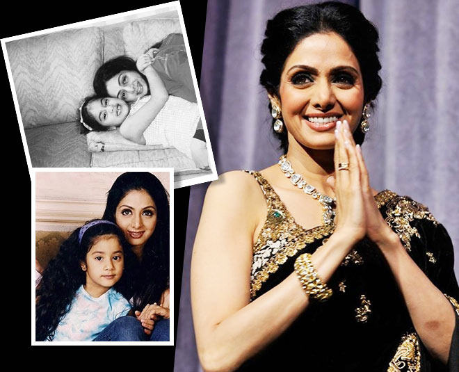 best family photos of sridevi