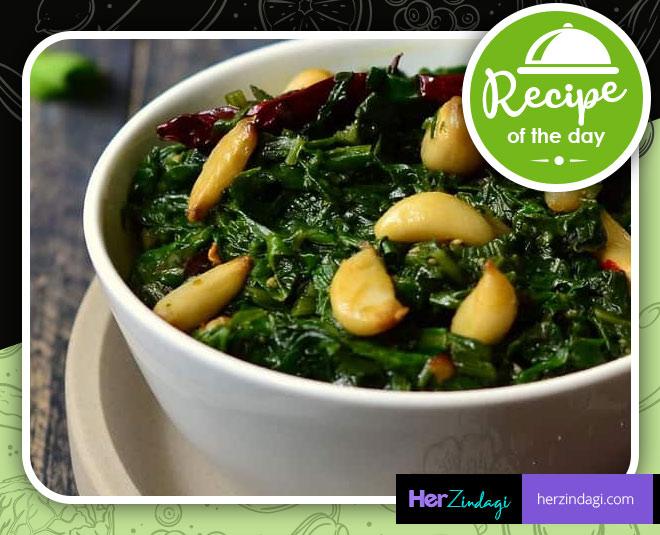 best recipe of kashmiri palak saag
