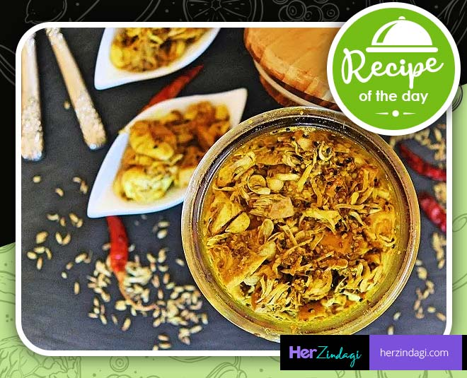 kathal ka achar  homemade recipe