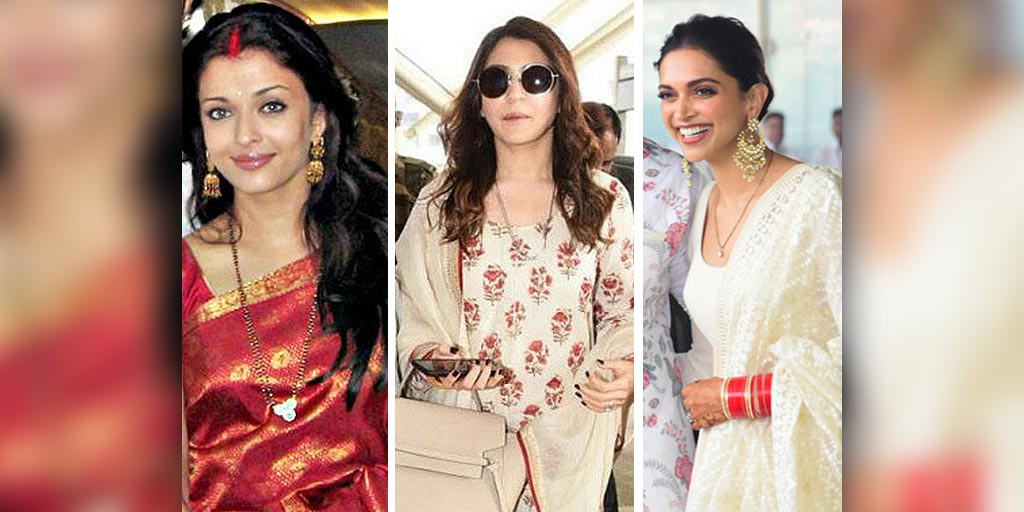 Top Celebrity Mangalsutra Designs Worn By Sonam Kapoor ...