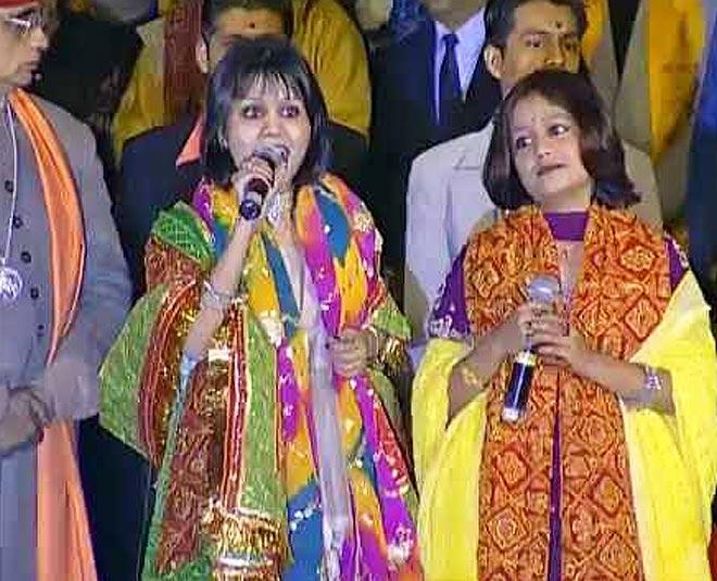 neha singing bhajan