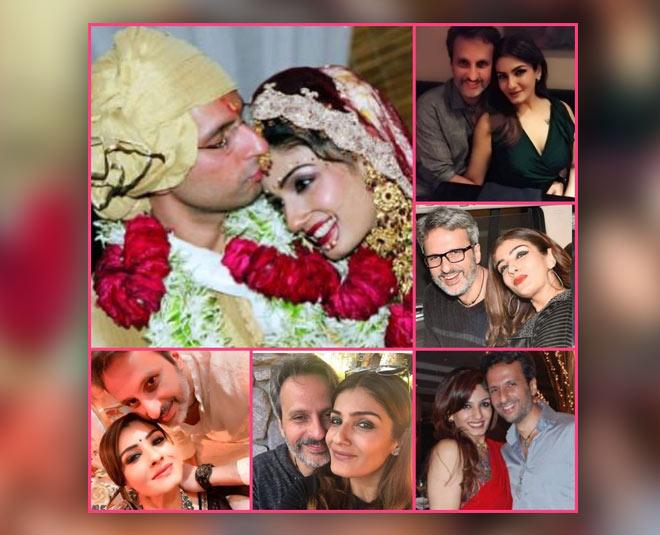 raveena tandon with husband anil thadani wedding anniversary main
