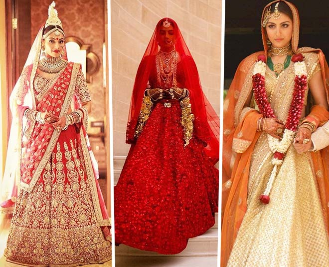 sabyasachi mukherjee lehenga for their wedding birthday