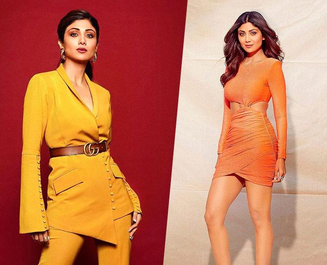 shilpa shetty in glamorous dresses main
