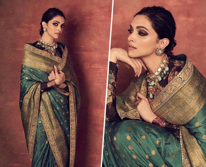Deepika Padukone 3 Latest Blouse Designs To Look Stylish ...