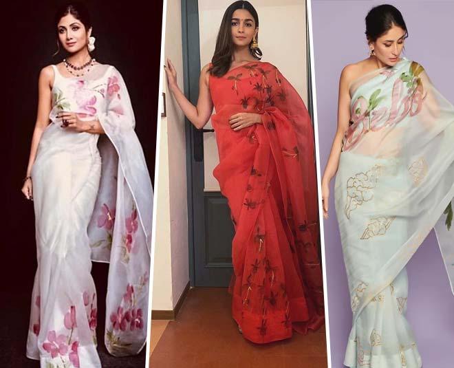 bollywood actresses organza fashion shilpa shetty alia bhatt kareena kapoor main