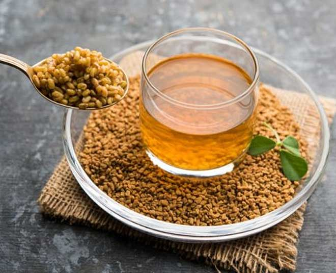 health benefits methi water