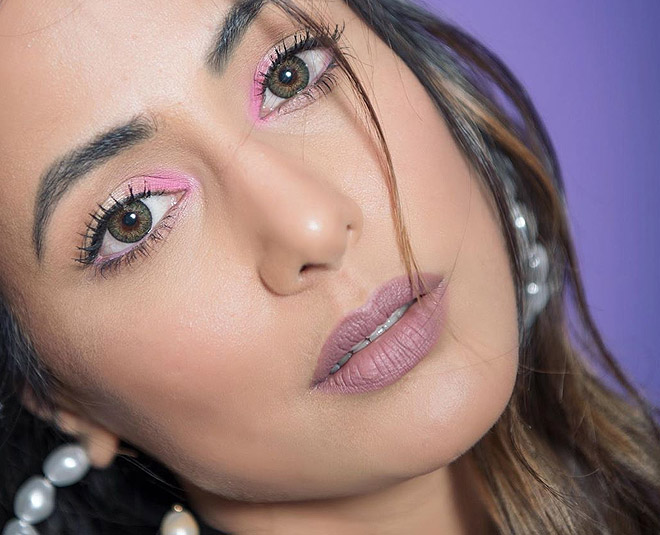 hina khan eye makeup m