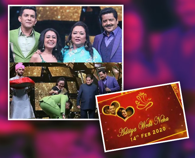 Neha Kakkar And Aditya Narayan S Marriage Date Finalised Parents Exchange Shagun On National Tv