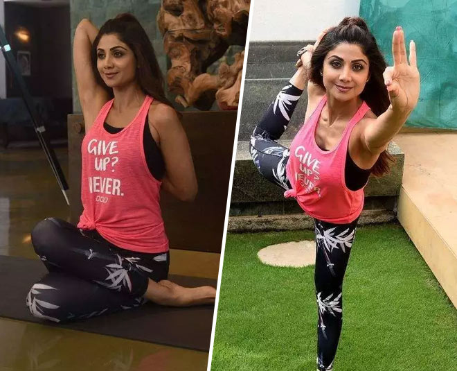 Shilpa Shetty Gives A Lesson On Performing Mayurasana Here S Why You Should Do It Too