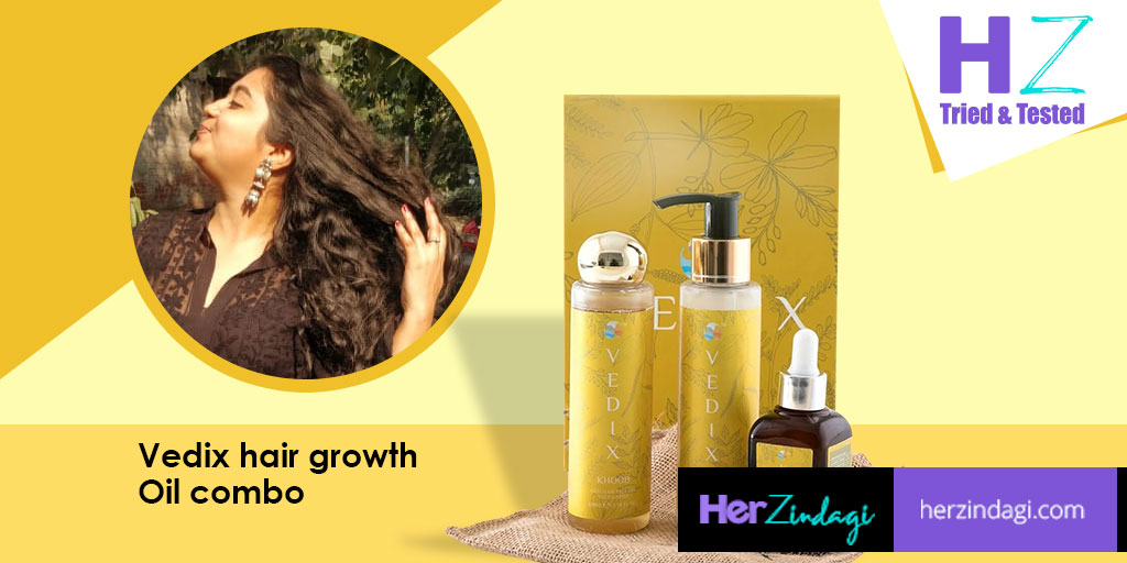 Hz Tried Tested Vedix Customised Khoob Hair Growth Hair Care Regime Combo Detailed Review