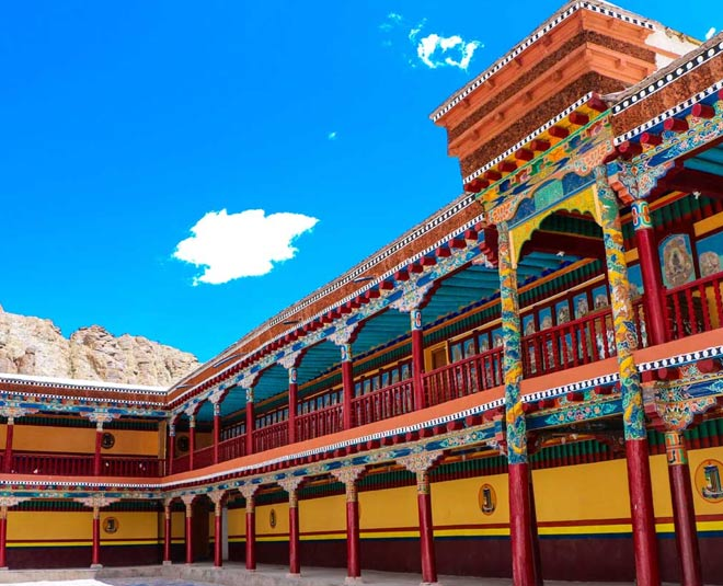 complete information about hemis monastery main