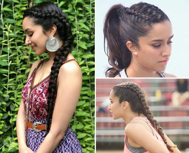 Shraddha Kapoor's Edgy Hairstyle