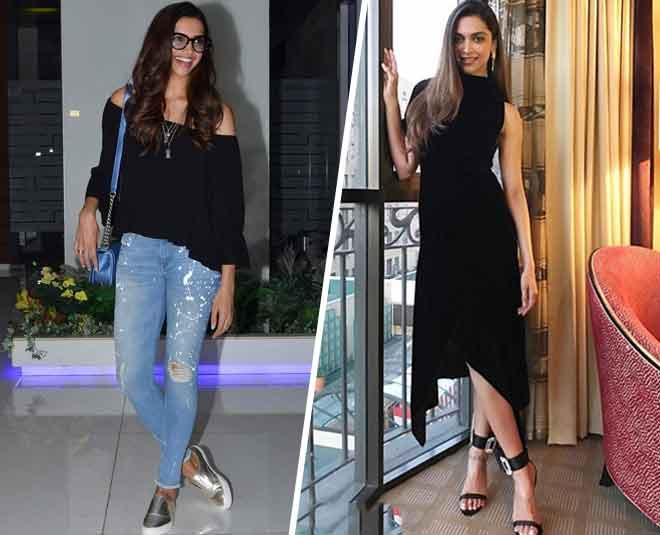 actress deepika padukone flat footwears collection