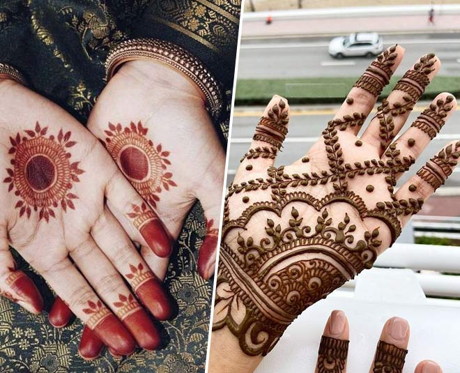 mehandi ka design simple mein