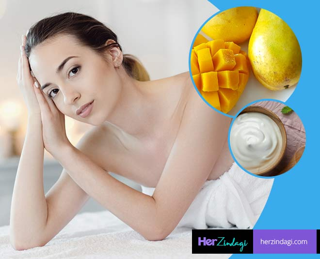 best mango curd facial for anti ageing glow