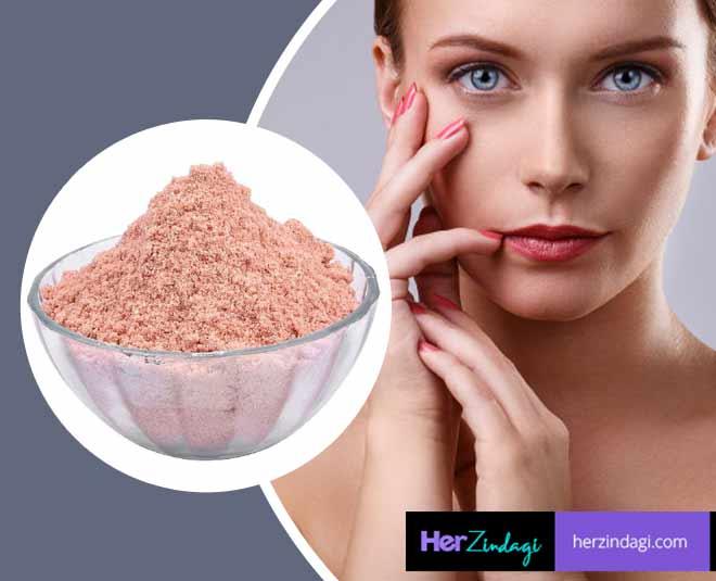 black salt for skin and hair beauty