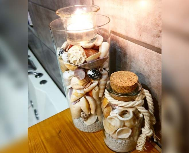 decorate home with sea shell in monsoon ideas