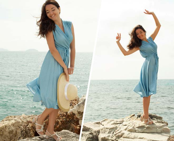 different way styling maxi dress