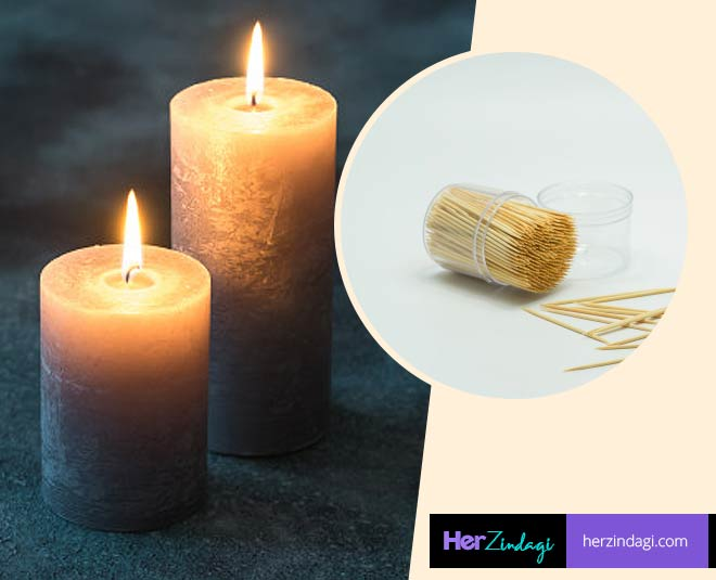 from candle to toothpick use these things in different ways main