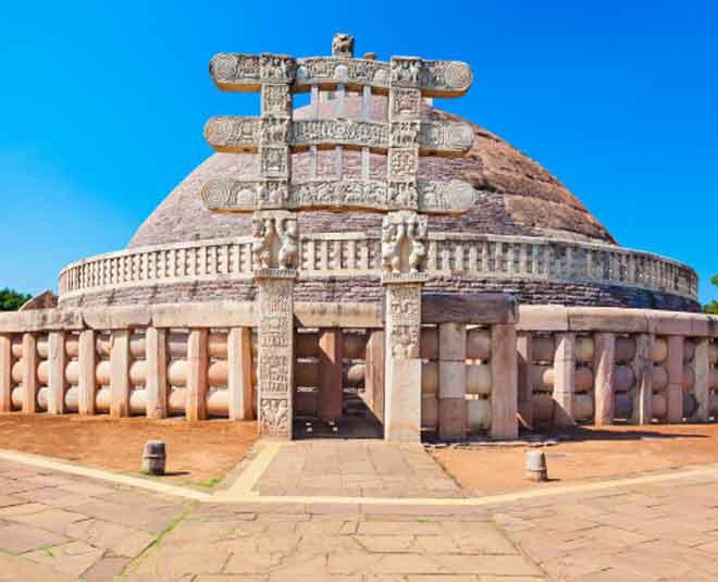 history of sanchi stupa main