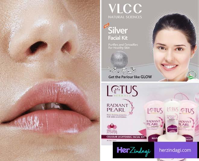 india oily skin facial kit