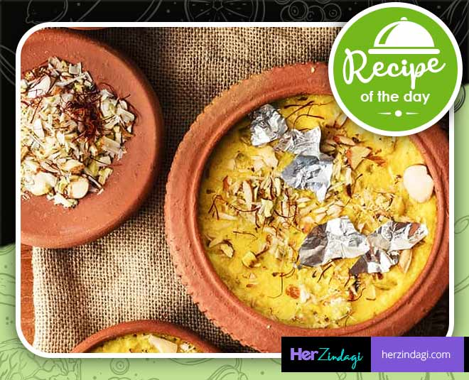 kesar phirni at home easy recipe