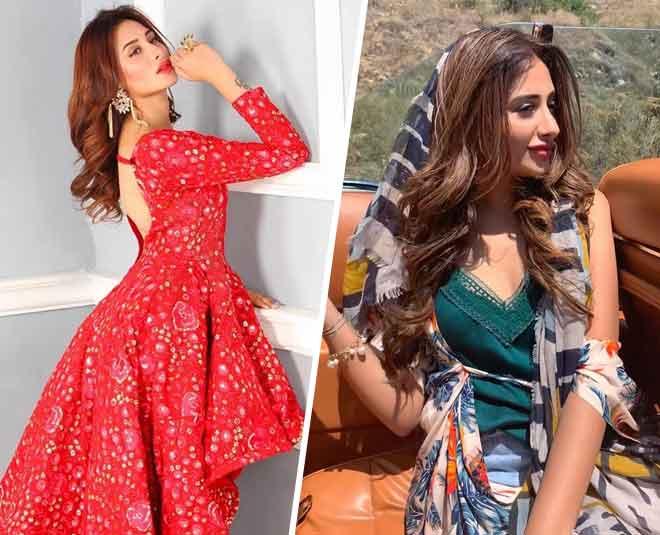 mahira Sharma western casual style