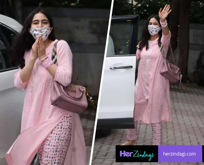 sara ali khan spotted anand rai office