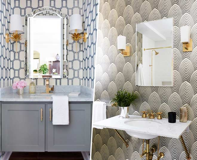 wallpapers that transform your bathroom tips