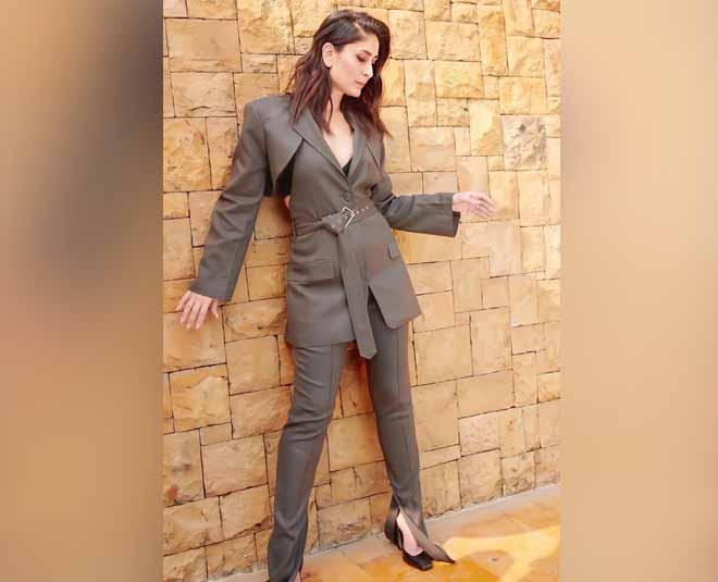 actress kareena kapoor pant suit style inside