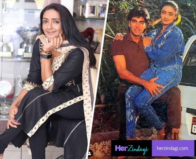 actress shantripriya and akshay kumar