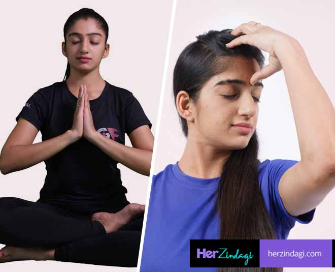 best yoga poses for headache during summer