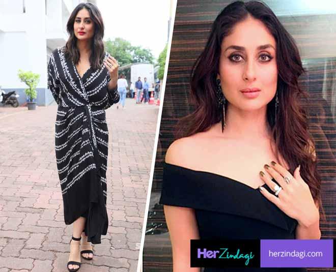 black outfits kareena kapoor khan