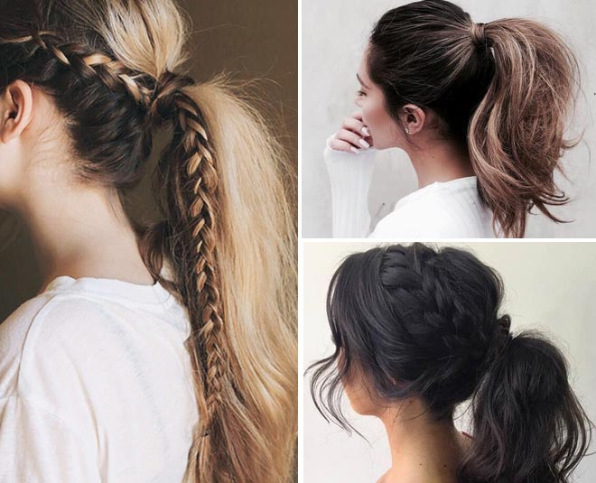 easy ponytail hairstyles for summer