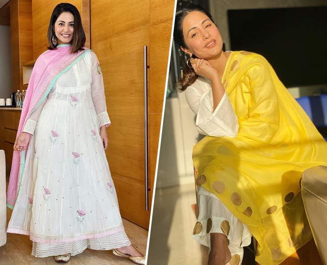 hina khan suits for summer season