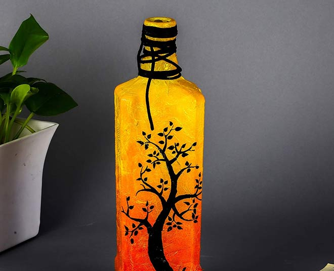 how to decorate your home by using bottles main