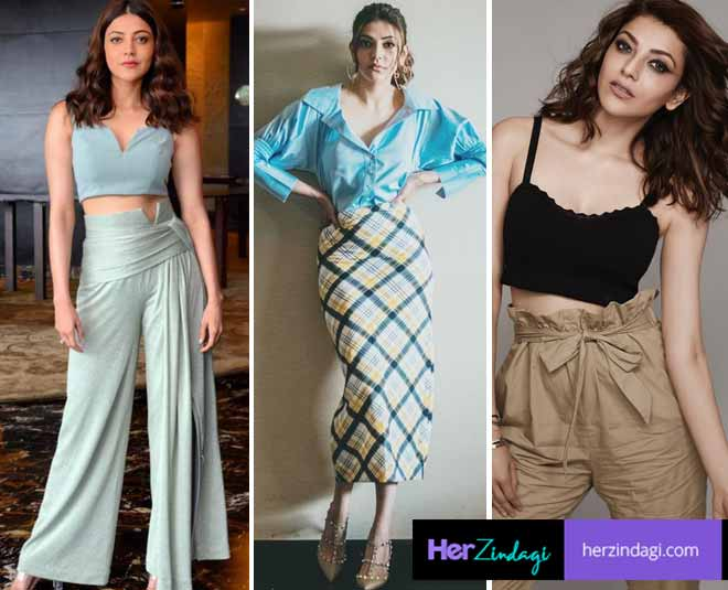 kajal aggarwal  casual wear collections