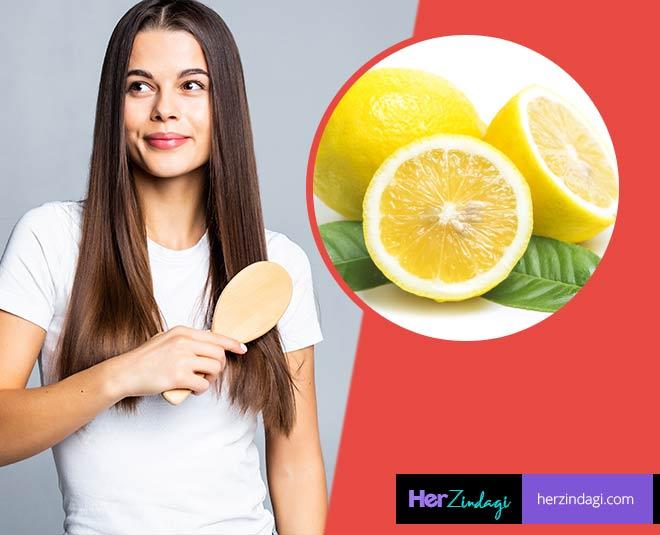 lemon  for  hair  wash homemade