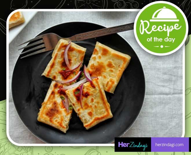 mughlai paratha easy recipe at home