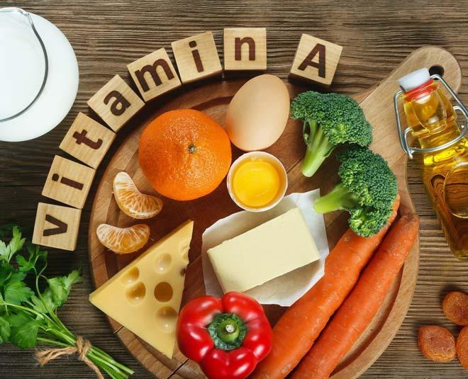 vitamin a rich foods m
