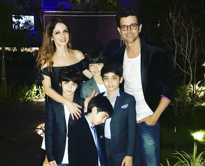 Hrithik and Sussanne Khan