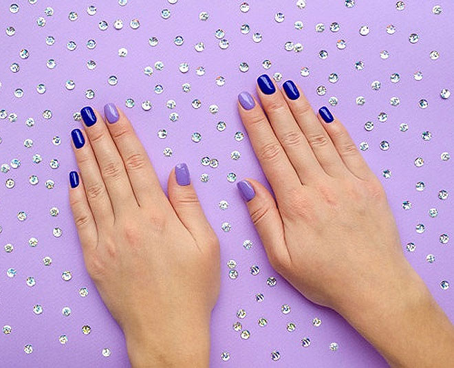 blue nail art to give your nails a beautiful look tips