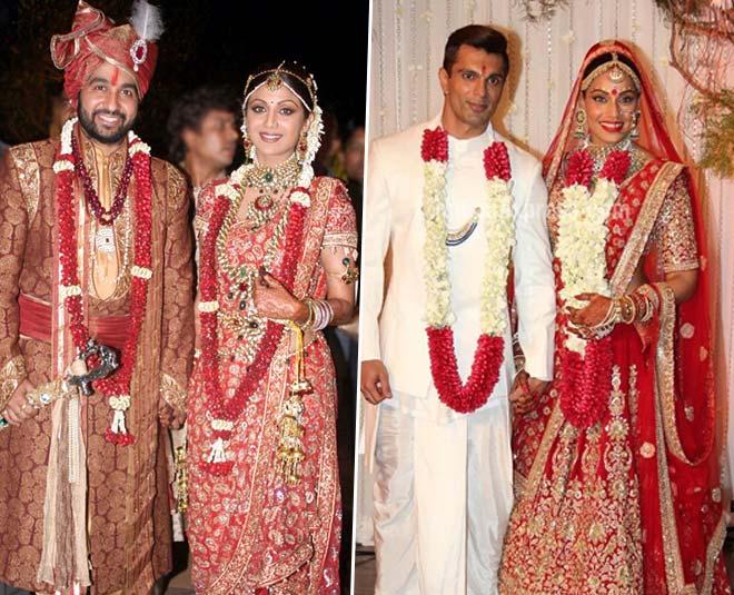Bipasha Basu Shilpa Shetty Bollywood Actresses Expensive Wedding Lehenga And Sarees In Hindi