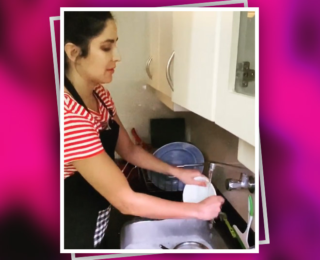 Image result for katrina washing dishes